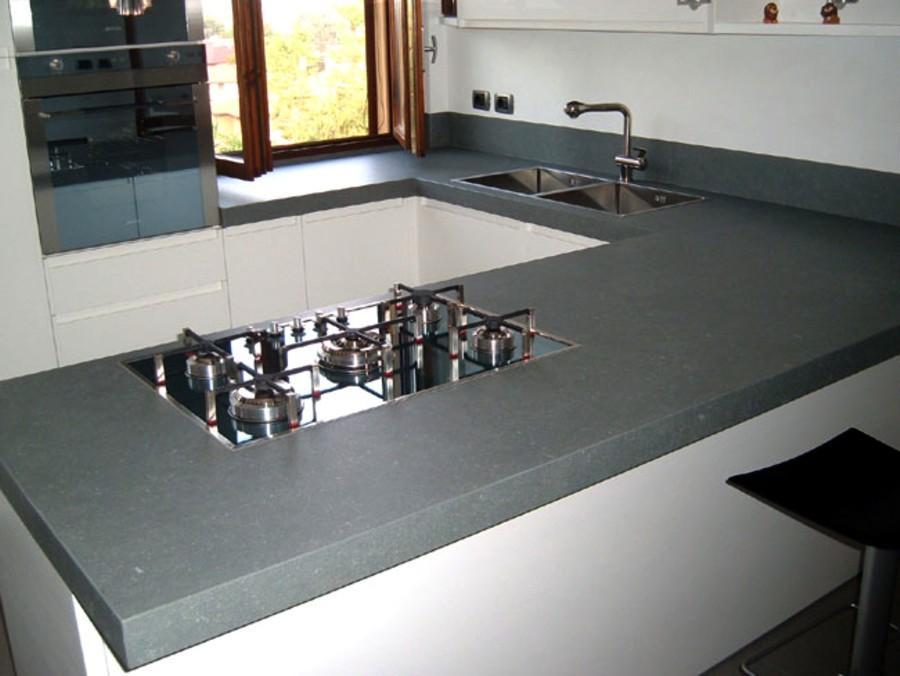 Piani Di Lavoro In Cemento. Fabulous Fabulous Materiali High ...